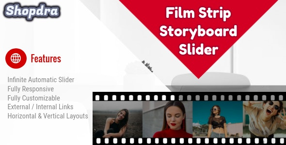 Film Strip - Storyboard jQuery - CodeCanyon Item for Sale