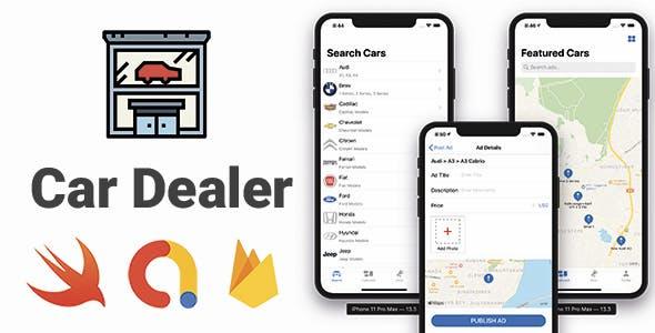 Car Dealer App | Full iOS Application