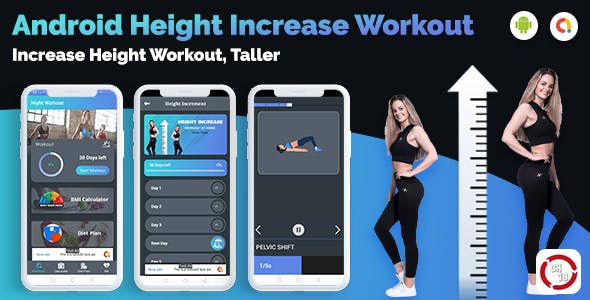 Height Increase Fitness Workout at home (30 days Workout Plan For Fitness)