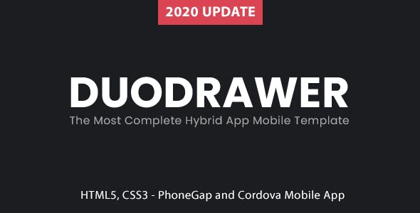 DuoDrawer Mobile | PhoneGap & Cordova Mobile App