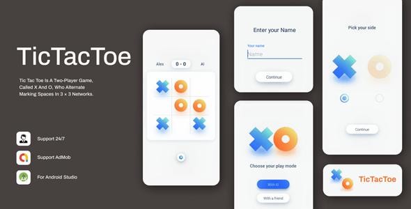 Tic Tac Toe: Simple & Minimal Game