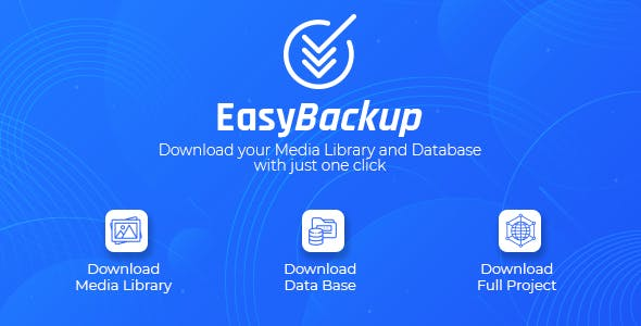 Easy Backup WordPress Plugin