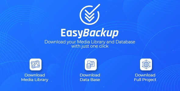 Easy Backup WordPress Plugin - CodeCanyon Item for Sale