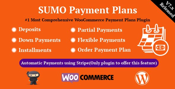 SUMO WooCommerce Payment Plans - Deposits, Down Payments, Installments, Variable Payments etc