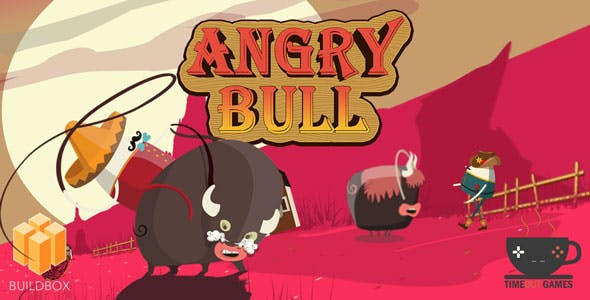 Angry Bull (IOS) - Full Buildbox Game