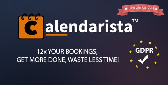 Calendarista Premium - WP Appointment Booking Plugin and Schedule System - CodeCanyon Item for Sale