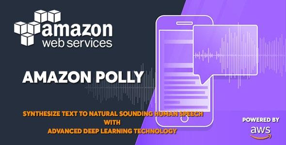 AWS Amazon Polly - Text to Speech Converter - CodeCanyon Item for Sale