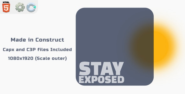 Stay Exposed - HTML5 Skill Game - CodeCanyon Item for Sale