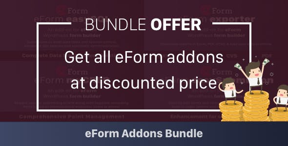 Add-on Bundle for eForm WordPress Form Builder