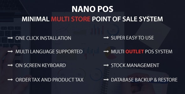 Nano POS - Minimal Multi Store Point Of Sale System - CodeCanyon Item for Sale