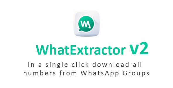WhatExtractor - WhatsApp Contacts Extractor - CodeCanyon Item for Sale
