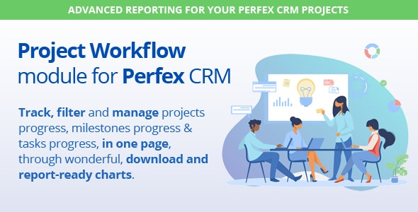 Project Roadmap - Advanced Reporting for Perfex CRM Projects - CodeCanyon Item for Sale