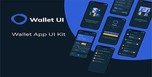 Flutter Wallet UI - CodeCanyon Item for Sale