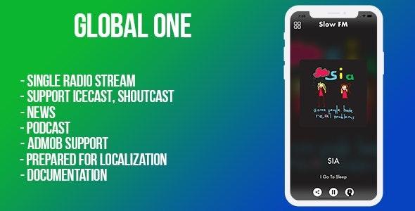 Global (single radio) iOS - CodeCanyon Item for Sale