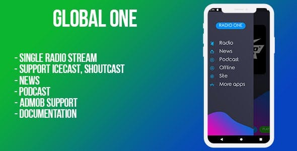 Global (single radio station) Android