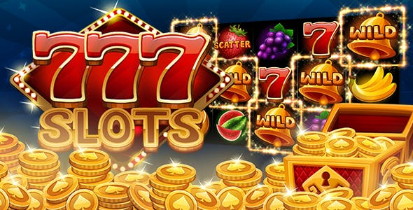 777 Slots Unity3d Game