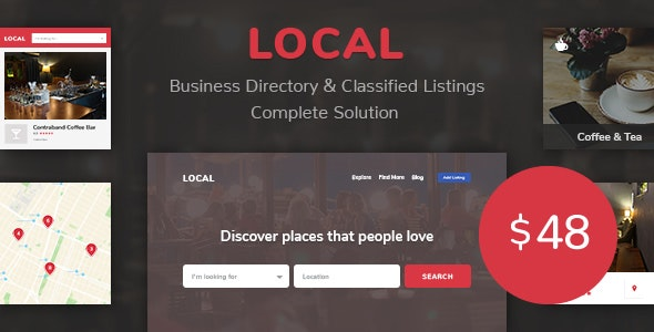 Business Directory Store Finder | Local - CodeCanyon Item for Sale