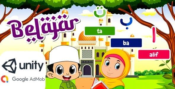 Hijaiyah Alphabet for Kids (Unity Game)