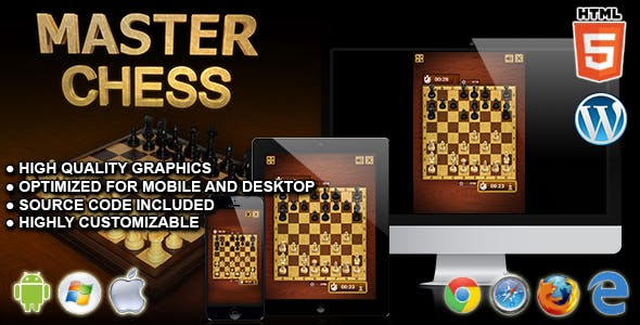 Master Chess - HTML5 Board Game