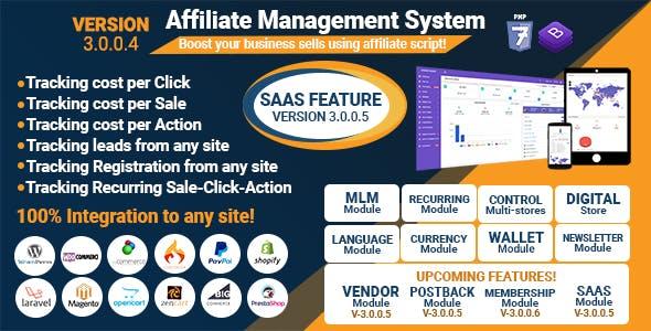 Affiliate Management System