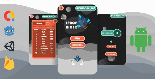 Space Rider - ADMOB + UNITY ADS