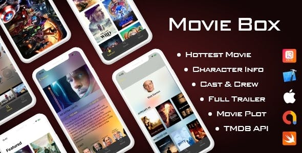 Movie Box iOS 13 support, Swift 5