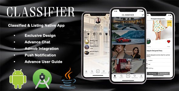 Classifier | Classified & Listing Native Android App