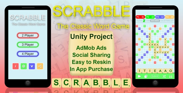 SCRABBLE - The Classic Word Game - CodeCanyon Item for Sale