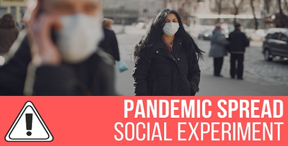Pandemic Spread Simulation - Social Experiment - CodeCanyon Item for Sale