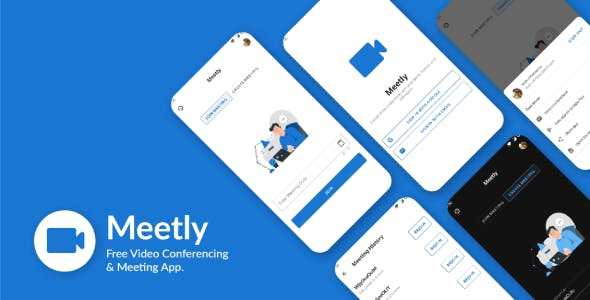Meetly - Free Video Conferencing & Meeting App