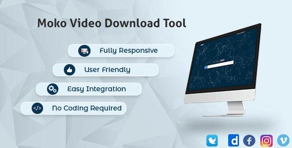 Ultimate Video Downloader - Facebook, Instagram, Twitter, Vimeo, Dailymotion, TikTok - CodeCanyon Item for Sale