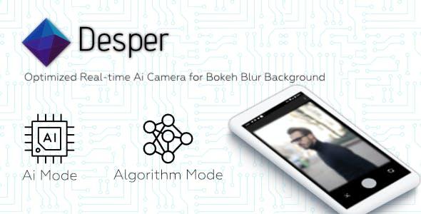 Desper-Ai Camera Portrait Mode Bokeh Blur