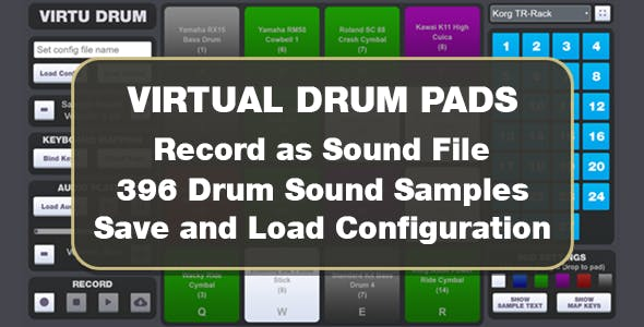 Virtu Drum Pads