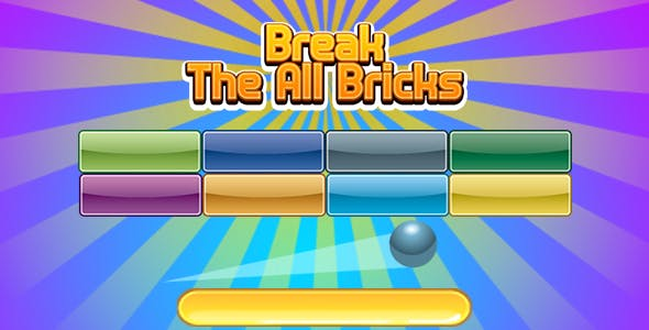 Break The All Bricks(CAPX and HTML5)