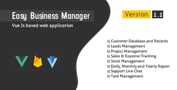 Easy Business Manager - CodeCanyon Item for Sale