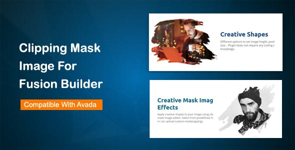 Clipping Mask Image for Fusion Builder (Avada)