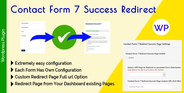 Contact Form 7 Success Redirect - CodeCanyon Item for Sale