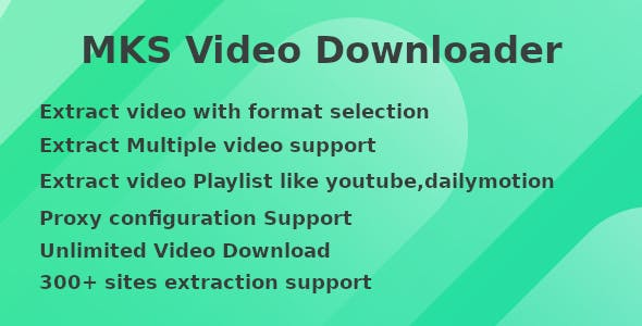 MKS -Video Downloader