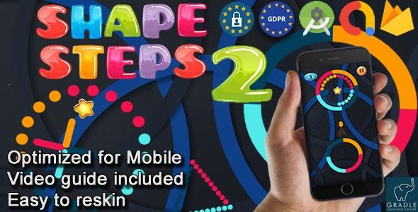 Shape Steps V2 (Admob + Android studio) - CodeCanyon Item for Sale