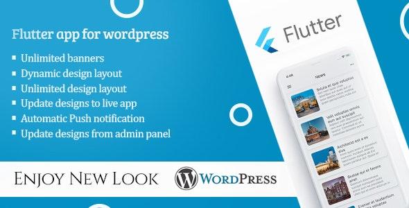 Flutter app for wordpress - CodeCanyon Item for Sale