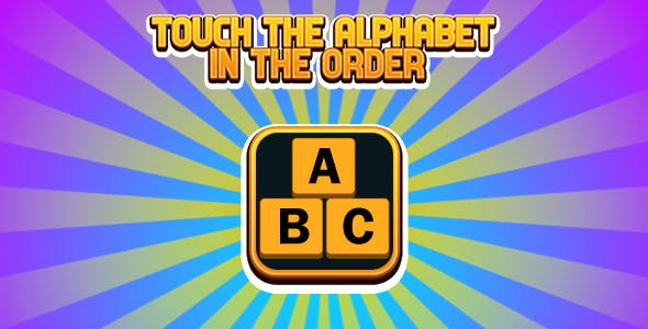 TOUCH THE ALPHABET IN THE ORDER (CAPX and HTML5)