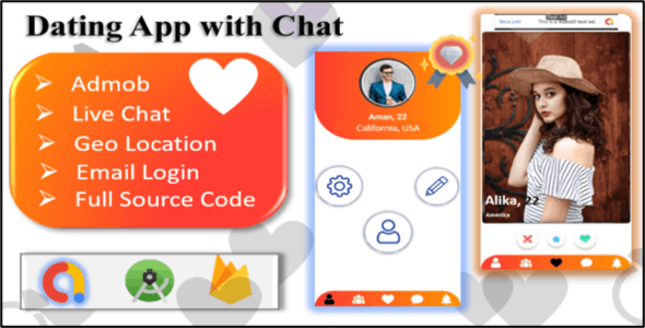 Rider - Dating App | Realtime Chat | chating App | Admob Ads Integrated