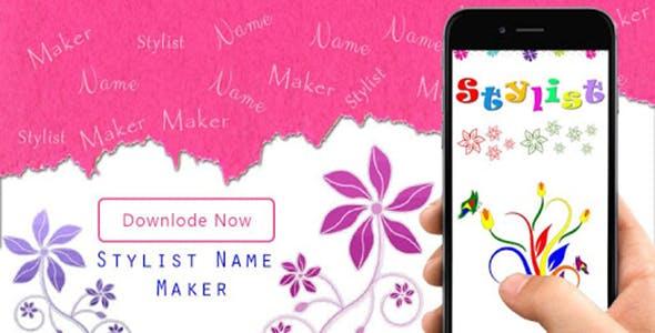 Stylish Name Maker - New Stylish name generator - Android App + Admob + Facebook Integration
