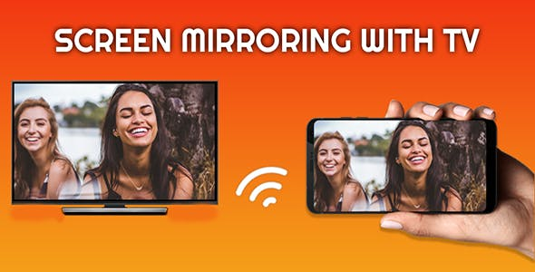 Screen Mirroring with TV: Play Video on TV - Android App + Admob Integration