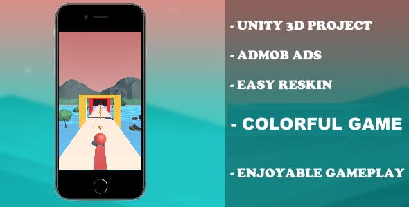 Colorful Balls - (Unity - Admob)