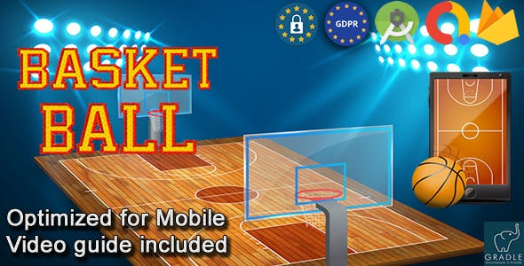 Basketball (Admob + GDPR + Android Studio)