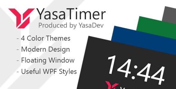YasaTimer | Floating Timer for Windows