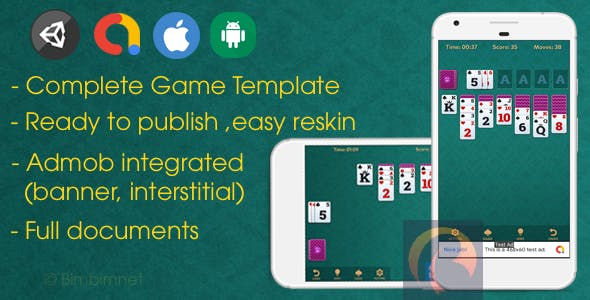 Spider Solitaire - Unity Card Game