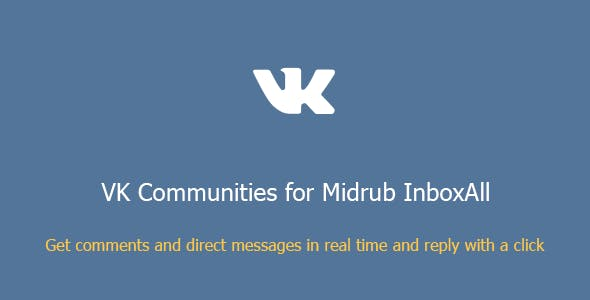 VK Communities for Midrub InboxAll