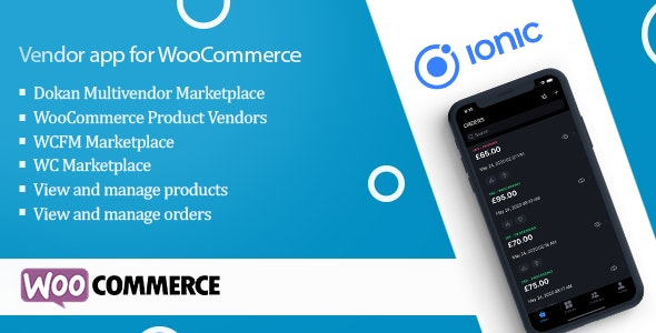 Vendor app for WooCommerce - CodeCanyon Item for Sale